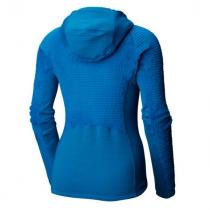 Mountain Hardwear Monkey Grid Hooded Woman Jacket - Prism Blue - 1