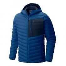 Mountain Hardwear Stretchdown Hooded Jacket - Nightfall Blue