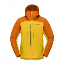 Norrona Iyngen Gore-Tex Jacket - Orange Popsticle/Lemon Chrome
