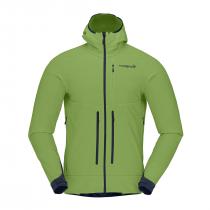 Norrona Iyngen Hiloflex100 Jacket - Foliage_Indigo Night