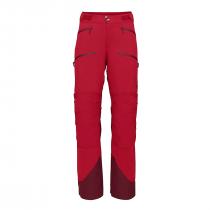 Norrona lyngen flex1 Pants Women - True Red_Rhubar