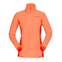 Norrona falketind warm1 Women Jacket - Melon