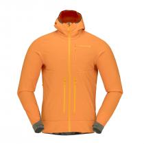 Norrona Iyngen Hiloflex100 Jacket - Orange Popsicle