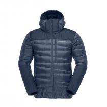 Norrona falketind down hood Jacket - Indigo Night