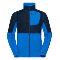 Norrona lyngen Alpha90 Raw Jacket - Hot Sapphire Blue
