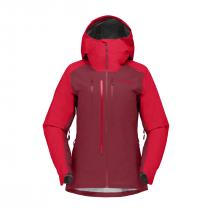 Norrona lyngen Gore-Tex Women Jacket - True Red_Rhubar