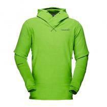 Norrona Falketind Warm1 Hoodie - Bamboo Green