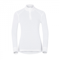 Odlo ML 1/2 Zip Active Warm Originals Women - White