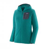 Patagonia R1 Air Full-Zip Hoody Women - Borealis Green