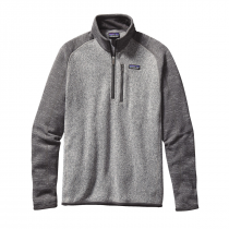 Patagonia Better Sweater 14 Zip - Nickel WForge Grey