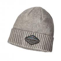 Patagonia Brodeo Beanie - Fitz Roy Crest - Drifter Grey