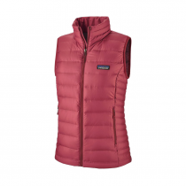Patagonia Down Sweater Vest Women - Roamer Red _ Gilet Femme Patagonia Down Sweater