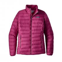 Patagonia Down Women Sweater - Magenta