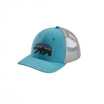 Patagonia Fitz Roy Bear Trucker Hat - Mako Blue