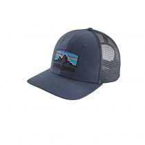 Patagonia Fitz Roy Horizons Trucker Hat - Dolomite Blue
