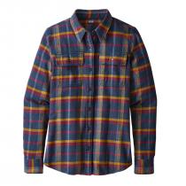 Patagonia L/S Fjord Flanner Shirt - Rebel: Arrow Red