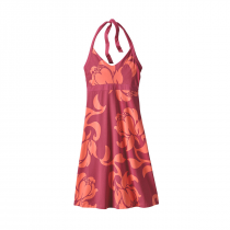 Patagonia Iliana Halter Dress Women - Exotic Floral: Craft Pink