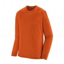 Patagonia L/S Cap Cool Merino Shirt - Sandhill Rust