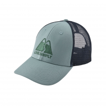 Patagonia Live Simply Winding LoPro Trucker Hat - Cadet Blue
