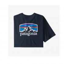Patagonia Fitz Roy Horizons Responsibili-Tee - New Navy