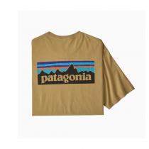 Patagonia M's P-6 Logo Organic T-Shirt - Classic Tan