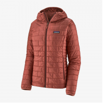 Patagonia Nano Puff Hoody Women - Spanish Red