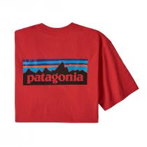 Patagonia P6 Logo Responsibili-Tee - Fire