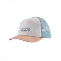 Patagonia Pastel P-6 Label Layback Trucker Hat Women - White