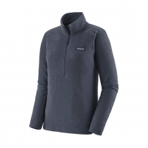 Patagonia R1 Air Zip Neck Women - Smolder Blue