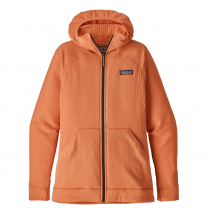 Patagonia R1 Full-Zip Women Hoody - Peach Sherbet