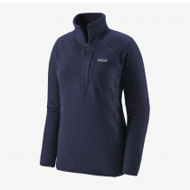 Polaire 1/2 zip Femme Patagonia R1 - Classic Navy