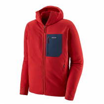 Patagonia R2 TechFace Hoody - Fire