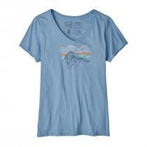 Patagonia Raindrop Peak Organic V-Neck T-Shirt