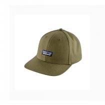 Patagonia Tin Shed Hat - P6 Logo: Fatigue Green