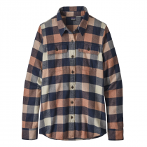 Patagonia L/S Fjord Flannel Shirt Women - Upriver: Century Pink