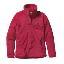 Patagonia Re-Tool Snap-T Pullover Femme - Portofino Pink / Rossi Pink X-Dye