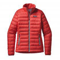 Patagonia Down Sweater Femme - French Red/Mogul Blue