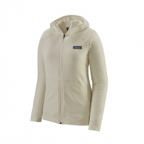 Patagonia R1 Full-Zip Hoody Women - Birch White