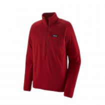 Polaire 1/2 Zip Patagonia R1- Classic Red