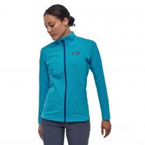Patagonia R1 TechFace Women's Jacket - Curacao Blue - 2