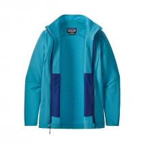 Patagonia R1 TechFace Women's Jacket - Curacao Blue - 1