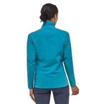 Patagonia R1 TechFace Women's Jacket - Curacao Blue - 3