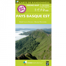 IGN Carte de Randonnées 1:50000 Pyrénées - 1
