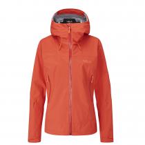 Rab Downpour Plus 2.0 Jacket Women - Red Grapefruit