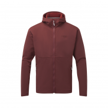 Rab Geon Hoody - Oxblood Red/Ascent Red Mar