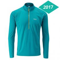 Rab Interval LS Zip Tee - Amazon