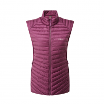 Rab Cirrus Flex Vest Women - Berry