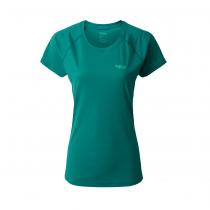 Camiseta Mujer Rab Pulse SS - Atlantis