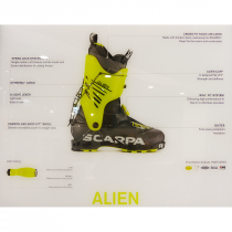 Scarpa Alien Alpine Touring Boot  - 3