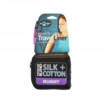 Sea To Summit Silk & Cotton Travel Liner - Mummy